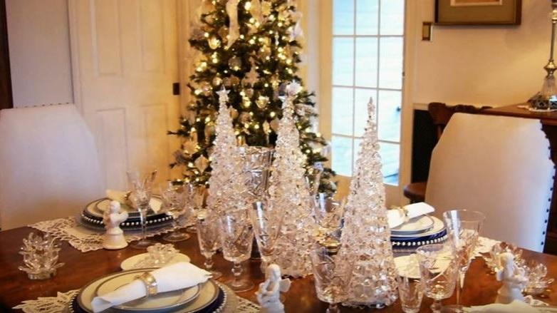 Como decorar la mesa para navidad 20 ideas para nochebuena - Figuras para decorar ...
